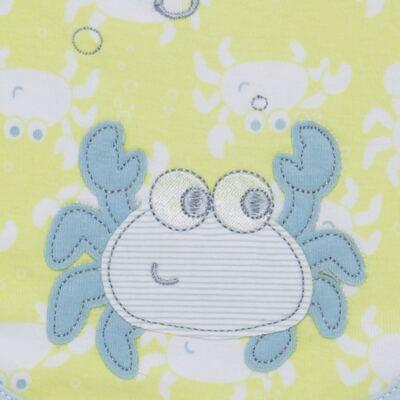 Imagem 2 do produto Babador para bebe atoalhado Cute Crab - Classic for Baby