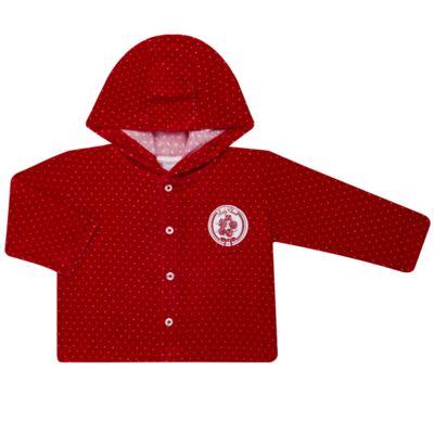 Imagem 2 do produto Casaco c/ capuz e Calça para bebe em plush Ruby - Mini & Kids - CCPZ1051.215 CONJ. BLUSÃO CAPUZ E CALÇA PLUSH VERMELHO-P
