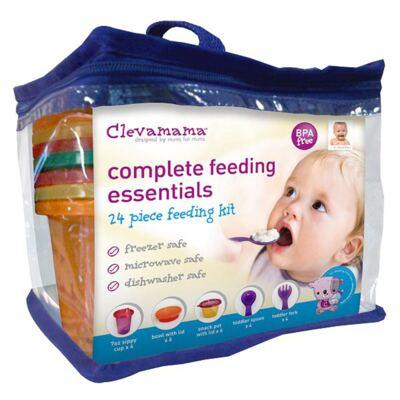 Imagem 1 do produto Kit Alimentação Completo - 24 peças - Clevamama