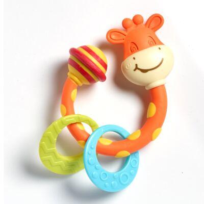 Imagem 1 do produto Meu Primeiro Chocalho Mordedor Girafinha  (0m+) - Tiny Love