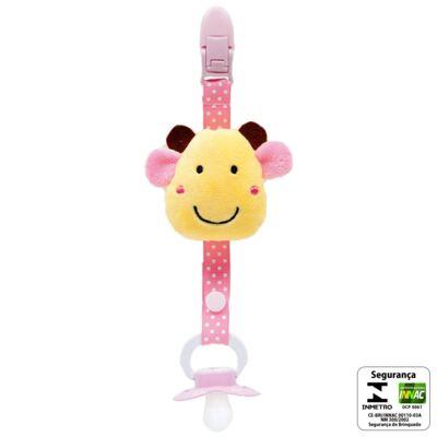 Imagem 2 do produto Prendedor de Chupeta Safari Girafinha (3m+) - Buba