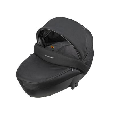 Imagem 3 do produto Travel System: Carrinho de bebê Elea Total Black + Moisés Windoo Plus Black Raven + Bebê Conforto Streety.fix Black Raven (0m+) - Bébé Confort