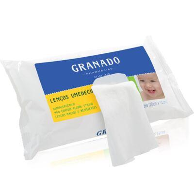Imagem 3 do produto Necessaire Laço Caramel Vermelha + 2 Lenços Umedecidos + Sabonete Líquido Bebê Tradicional - Classic For Baby Bags & Granado
