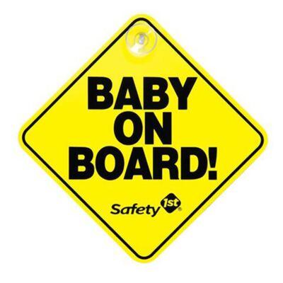 Imagem 1 do produto Sinal Bebê a Bordo (0m+) - Safety 1st