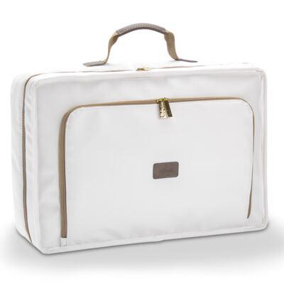 Imagem 2 do produto Mala maternidade + Bolsa + Frasqueira para bebe Off White - Masterbag