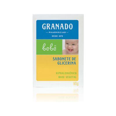 Imagem 2 do produto Kit com 2 sabonetes + 1 Sabonete Líquido para bebê Tradicional - Granado