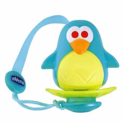 Imagem 1 do produto Protetor de Chupeta universal Pinguim (0m+) - Chicco