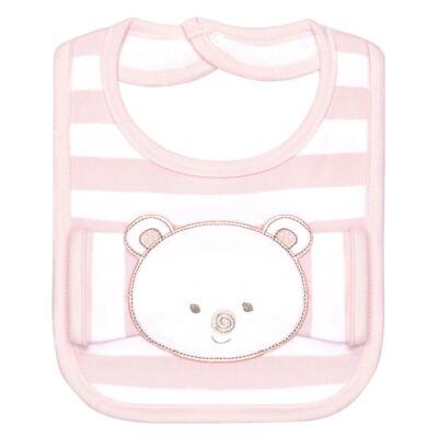 Imagem 1 do produto Babador com fraldinha de boca para bebe Love Bear - Classic for Baby