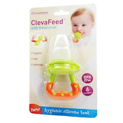 Imagem 1 do produto Mordedor papinha em Silicone ClevaFeed (6m+) - Clevamama
