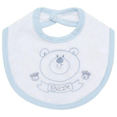 Imagem 1 do produto Babador atoalhado Urso - Classic for Baby