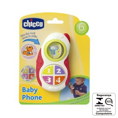 Imagem 4 do produto Telefone Baby Phone (6m+) - Chicco