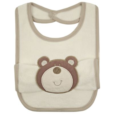 Babador com fraldinha de boca Nature Friends - Classic for Baby