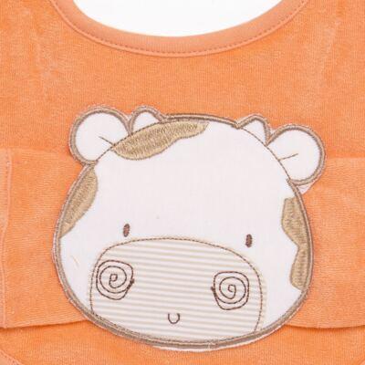Imagem 2 do produto Babador com fraldinha de boca para bebe Mu Mu - Classic for Baby