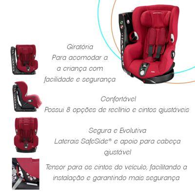 Imagem 8 do produto Cadeira Axiss Robin Red (12m+) - Bébé Confort