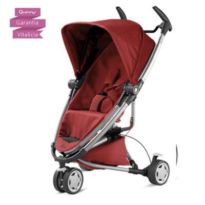 Imagem 6 do produto Travel System: Bebe Confort com Base Citi Black Raven Maxi-Cosi + Carrinho Zapp Xtra 2 Red Rumour Quinny