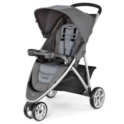 Imagem 2 do produto Viaro Travel System: Carrinho de bebê Viaro Graphite + Poltrona Keyfit Night (0m+) - Chicco