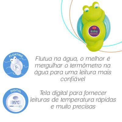 Imagem 2 do produto Termômetro para Banho Frog (0m+) - Bébé Confort