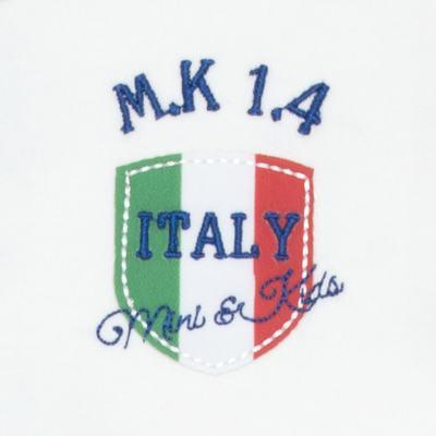 Imagem 3 do produto Body longo com Calça para bebe em Pima Cotton Supreme Itália - Mini & Kids - CBBC335 BODY ML COM CALÇA SUEDINE ITÁLIA-P