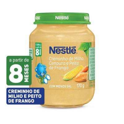 Imagem 1 do produto Papinha Nestlé Creme de Milho com Cenoura e Peito de Frango 170g