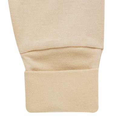 Imagem 5 do produto Body longo com Calça para bebe em algodão egípcio c/ jato de cerâmica   Nature Little Friends - Mini & Classic - CJBM650 CONJ BODY ML C/ MIJAO SUEDINE NATURE-P