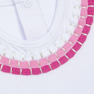 Imagem 2 do produto Blusinha mullet em cotton Maxi Colar - Missfloor - COTTON-1