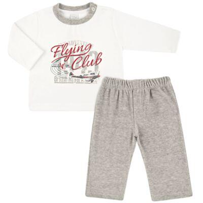 Imagem 1 do produto Blusão com Calça em plush Flight Club - Vicky Lipe - CLÁSSICO-GG