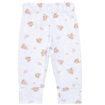 Imagem 3 do produto Body longo com Calça para bebe em algodão egípcio c/ jato de cerâmica e filtro solar fps 50 Pink Little Toys - Mini & Kids - CS621.325 CONJ. BODY ML C/ MIJAO SUEDINE CARNEIRINHOS-RN