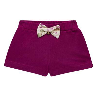 Imagem 4 do produto Body com Shorts para bebe em suedine L'Amore - Grow Up - 04080007.132 CONJUNTO POETRY FLORAL-M