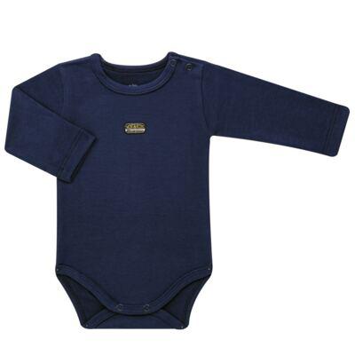 Imagem 2 do produto Body longo com Calça para bebe em algodão egípcio c/ jato de cerâmica e filtro solar fps 50 Sports - Mini & Kids - M