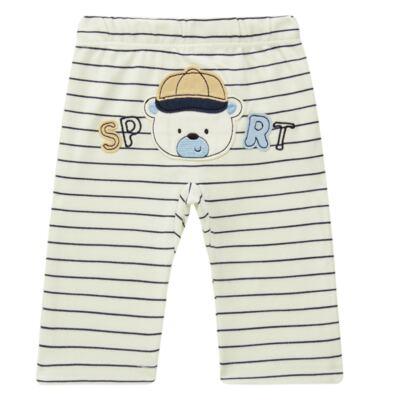 Imagem 4 do produto Body longo com Calça para bebe em algodão egípcio c/ jato de cerâmica e filtro solar fps 50 Sports - Mini & Kids - M