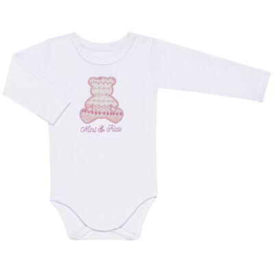 Imagem 2 do produto Body longo com Calça para bebe em algodão egípcio c/ jato de cerâmica e filtro solar fps 50 Tribal Print - Mini & Kids - TRICOT-P