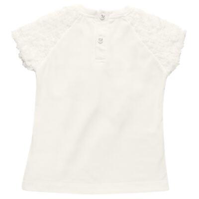 Imagem 3 do produto Blusa com Legging para bebe em cotton Ballerina Camelli - Charpey - WHITE -P