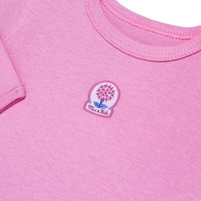 Imagem 3 do produto Body curto com Calça em algodão egípcio c/ jato de cerâmica e filtro solar fps 50 L'Hortensia - Mini & Kids - HORTÊNCIAS-P