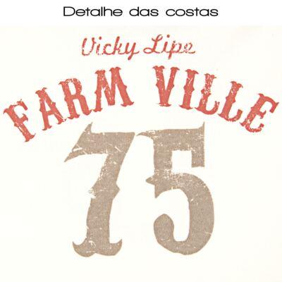 Imagem 3 do produto Blusa polo com Calça em suedine Farm Ville - Vicky Lipe - FAZENDINHA-M
