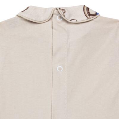Imagem 4 do produto Body com Mijão em algodão egípcio Baby Toys - Roana - BM000887005 BODY C MIJAO 666 BEGE-P