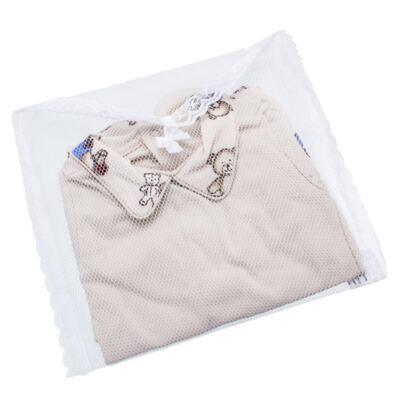 Imagem 7 do produto Body com Mijão em algodão egípcio Baby Toys - Roana - BM000887005 BODY C MIJAO 666 BEGE-P