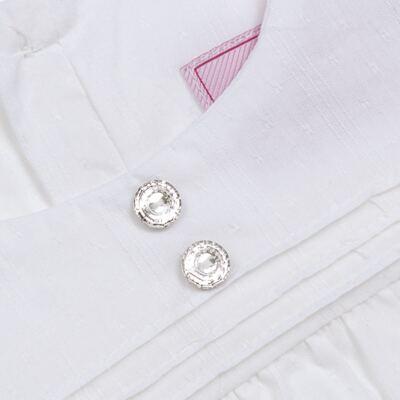 Imagem 2 do produto Bata manga longa em tricoline Off White - Missfloor - 50NV0001.369 BATA M/L - TRICOLINE-3