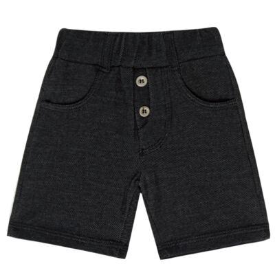 Imagem 1 do produto Bermuda para bebe em fleece Black Jeans - Petit - 85014309 BERMUDA AVULSA FLEECE SAFARIA -P