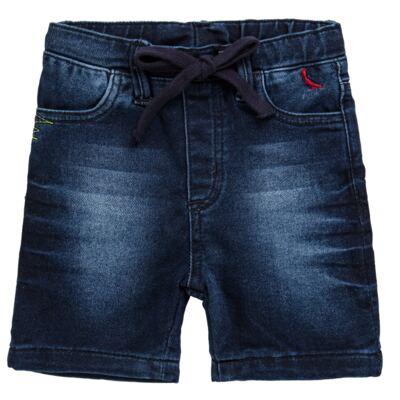 Imagem 1 do produto Bermuda para bebe Jeans  - Reserva Mini - RM25434 BERMUDA BB JEANS DETALHE-M