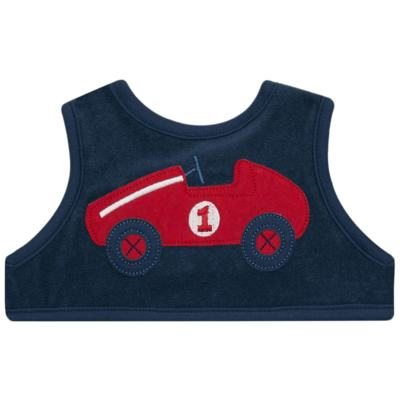 Imagem 1 do produto Babador de vestir atoalhado Little Car - Classic for Baby - BVE551 BABADOR DE VESTIR ATOALHADO-G