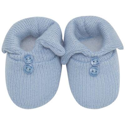 Imagem 1 do produto Sapatinho em tricot Azul - Roana