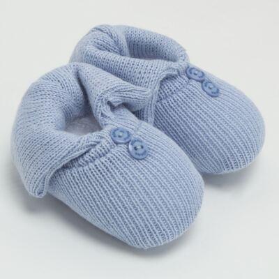 Imagem 2 do produto Sapatinho em tricot Azul - Roana