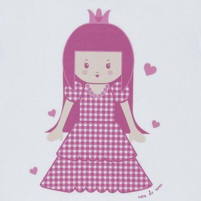 Imagem 3 do produto Pijama Curto em malha Princesinha - Cara de Sono