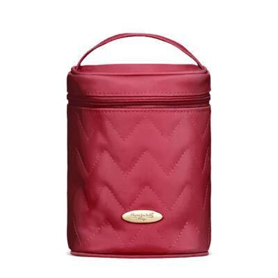 Imagem 5 do produto Mala Maternidade para bebe + Bolsa Turin + Frasqueira Térmica Trento +  Frasqueira Térmica Firenze + Trocador Chevron Rubi - Classic for Baby Bags