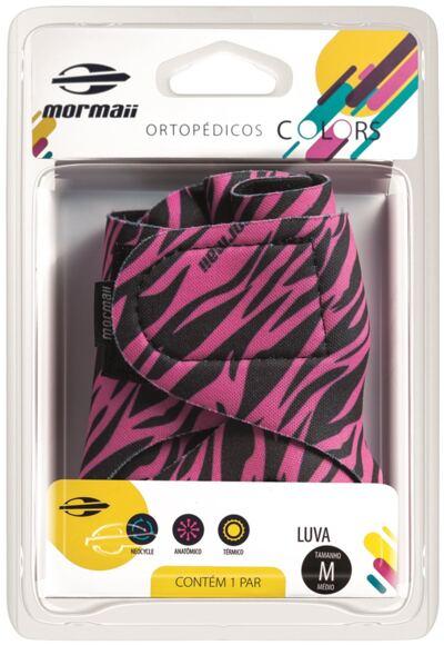 Imagem 1 do produto Luva Colors Zebra Pink Mormaii - P