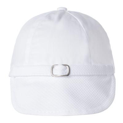 Imagem 6 do produto Camisa Colete, Shorts e Boné em tricoline Branco - Sylvaz - SZ273 Conjunto Curto Colete Batizado Branco-M
