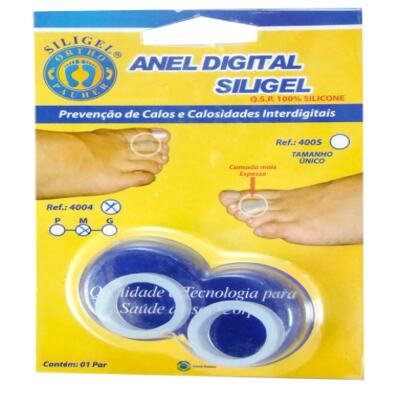 Imagem 3 do produto Anel Digital Siligel 4004 Ortho Pauher - P