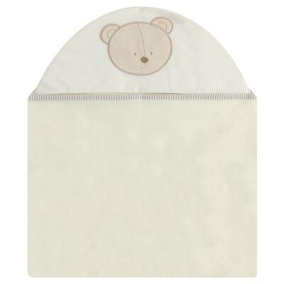 Imagem 1 do produto Toalha Max com capuz para bebe Nature Cute Bear - Classic for Baby