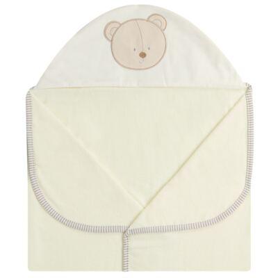 Imagem 2 do produto Toalha Max com capuz para bebe Nature Cute Bear - Classic for Baby