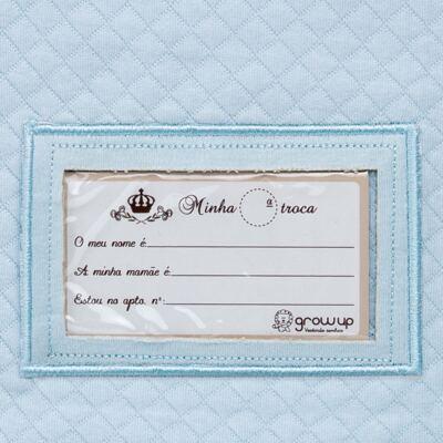 Imagem 4 do produto Porta Roupinhas para Maternidade Azul Matelassê - Grow Up